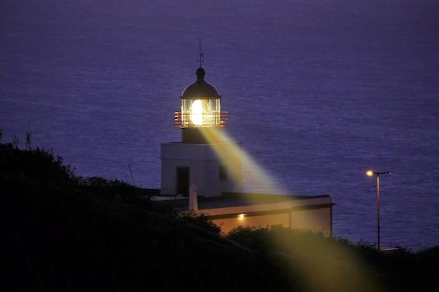 ポンタダパルゴマデイラポルトガルの灯台