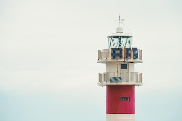 Башня маяка с копией пространства