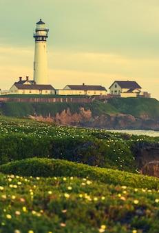 The lighthouse vista