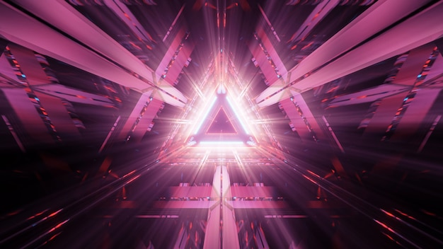 三角形のライト