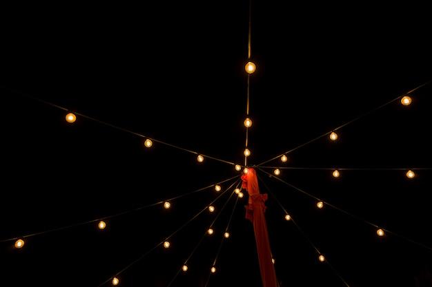 Lights of night city