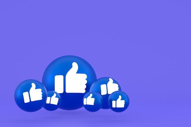 Как значок facebook, символ воздушного шара в социальных сетях на фиолетовом фоне