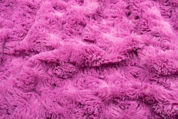 Lilac texture of bedspreads, romantic background.