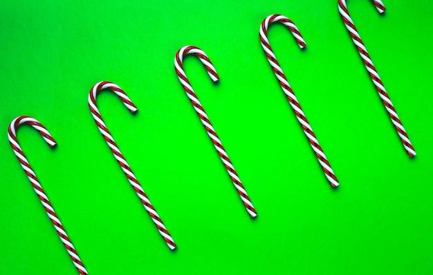 Lillipop canes top wiew