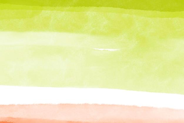 ライムグリーンのデスクトップの背景、水彩壁紙の抽象的なデザイン