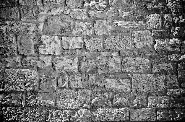 Limestone brick wall background