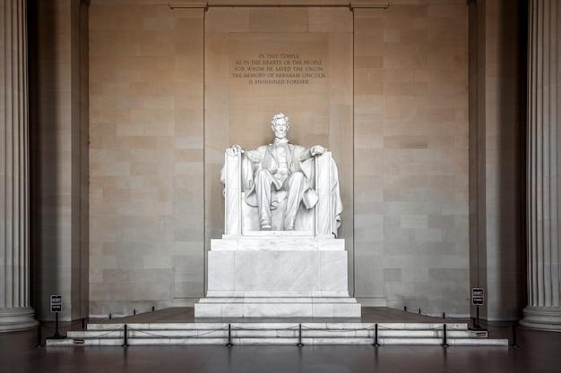 リンカーン記念館、ワシントンdc