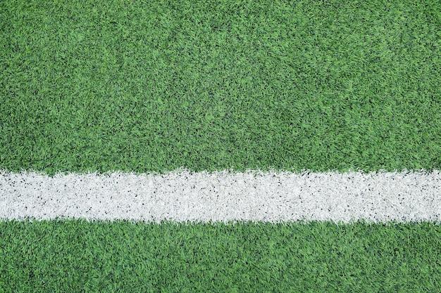サッカー場のライン