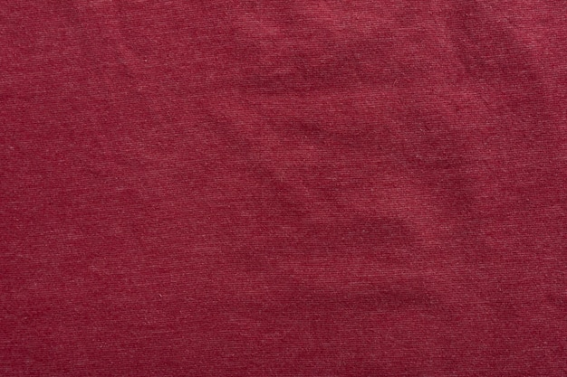 Linen texture background textile pattern backdrop fabric cloth. red.
