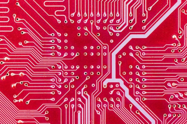Lines and solder joints of the circuit board