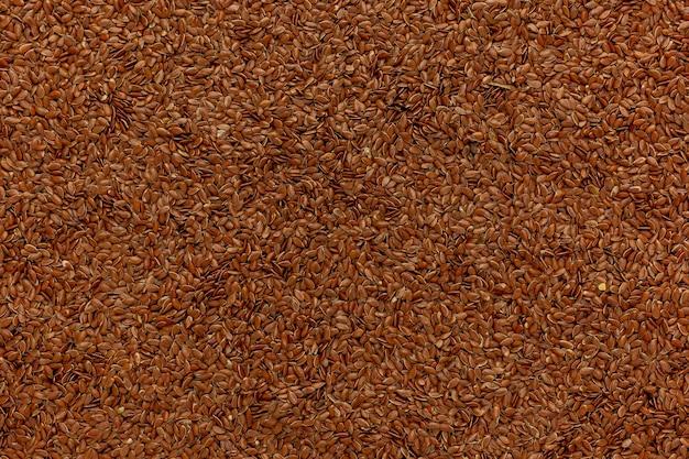 リナムは茶色の亜麻仁の名前です。亜麻仁、穀物のクローズアップとしても知られています