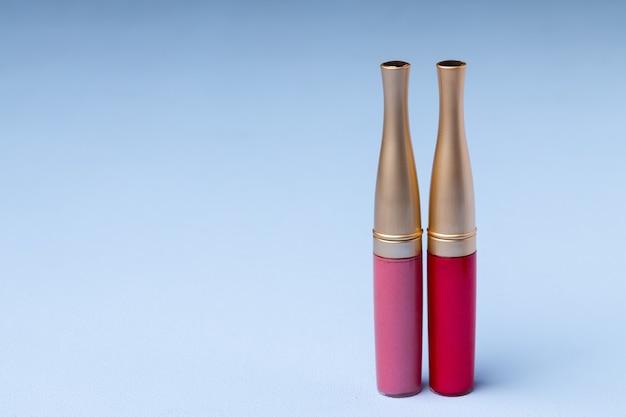 ピンクのリップメイクアップ商品