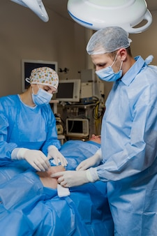 Липосакция при операции по липофилингу