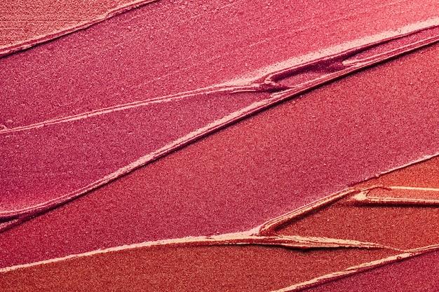 Lipstick smudge wave red purple burgundy shimmering texture background