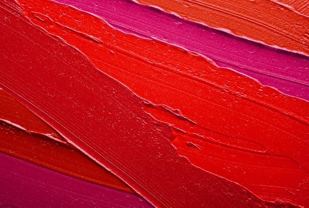 Lipstick smudge wave red purple texture background
