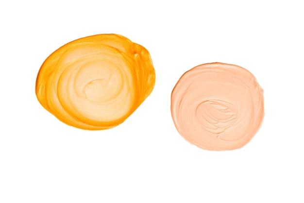 Жидкий маркер для тела и лица, изолированные на белом фоне