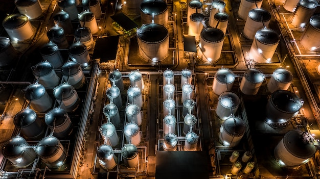 薬液タンクターミナル、薬液・石油化学製品タンクの保管