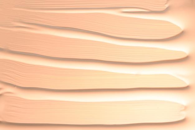 Liquid foundation texture. make up for women.