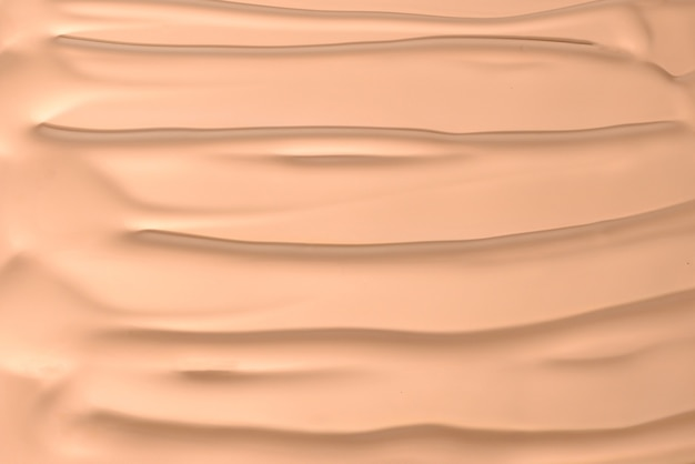 Liquid foundation texture of make up