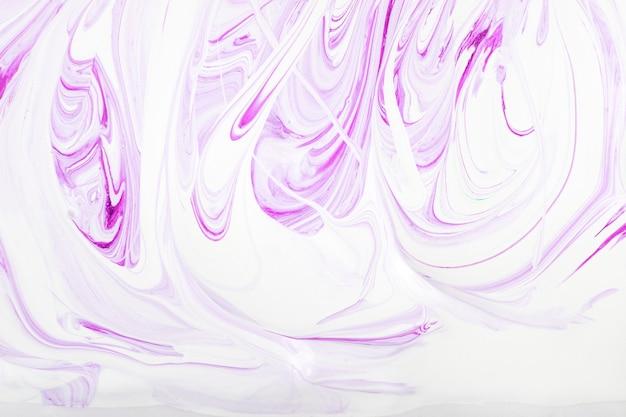 液体大理石ペイントテクスチャ背景、アクリル抽象的なパターン Premium写真