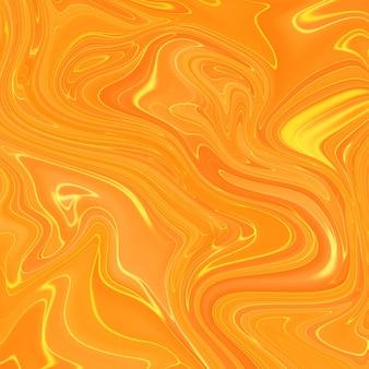 液体マーブリングペイントテクスチャ。流動的な絵画の抽象的なテクスチャ、集中的なカラーミックスの壁紙。