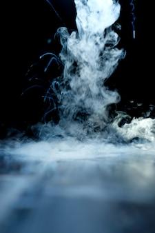Liquid nitrogen steam