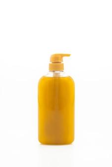 Liquid soap bottle isolated