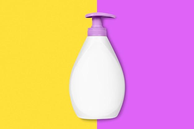 Liquid soap bottle.