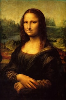 Lisa mona artwork painting oil art