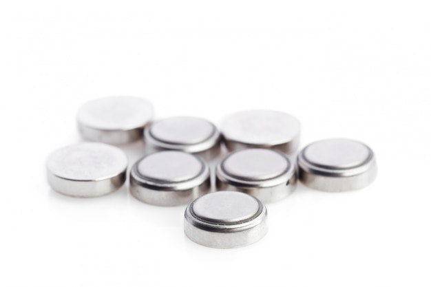 Lithium batteries isolated
