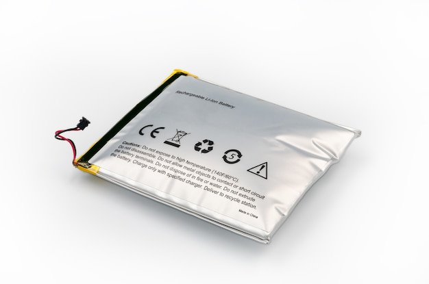 Lithium-ion battery which has expanded.