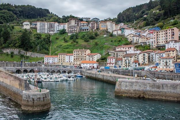 バスクの国のlitle村の景色。