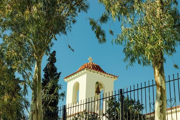 Little beautiful greek church