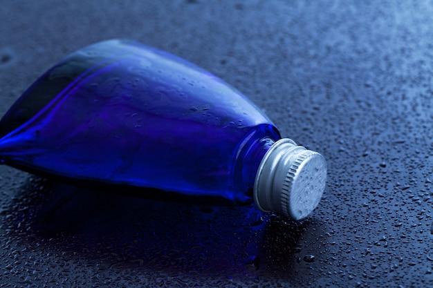 Little blue bottle