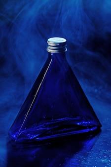 少し青いボトル