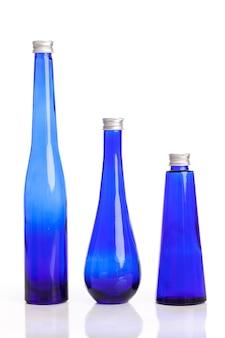 Little blue bottles