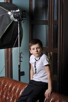 ソフィテルについての小さな男の子