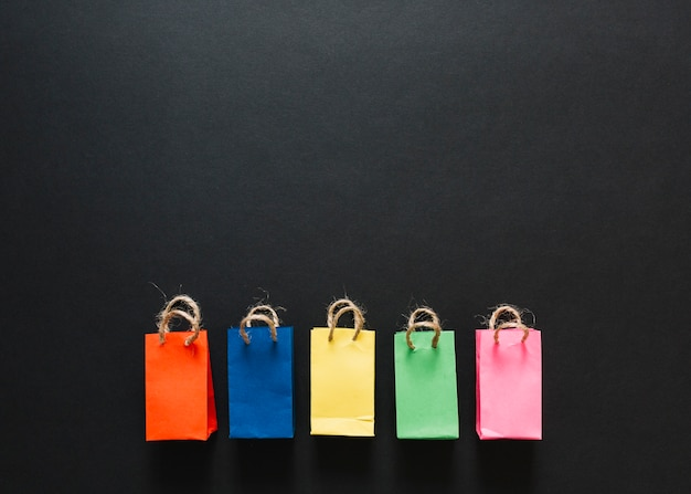 Little colourful packets