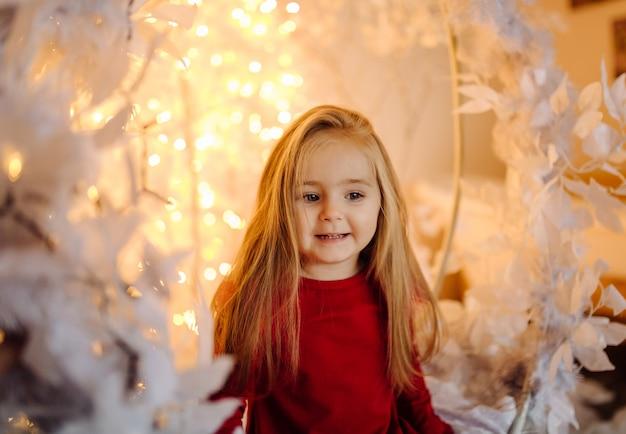 Little girl at the studio