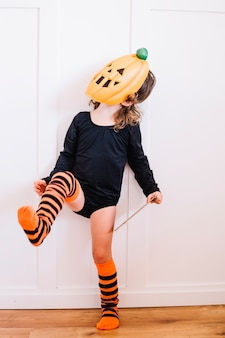 Little pumpking dancing