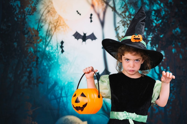 Little scary witch