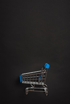 Little toy shopping trolley