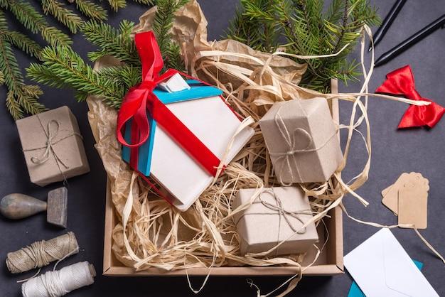 Little wooden house, christmas present