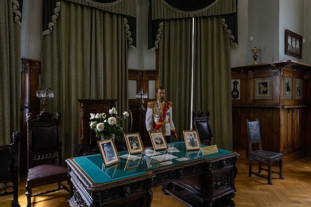 リヴァディアクリミア最後のロシア皇帝ニコライ2世のクリミアの住居の内部