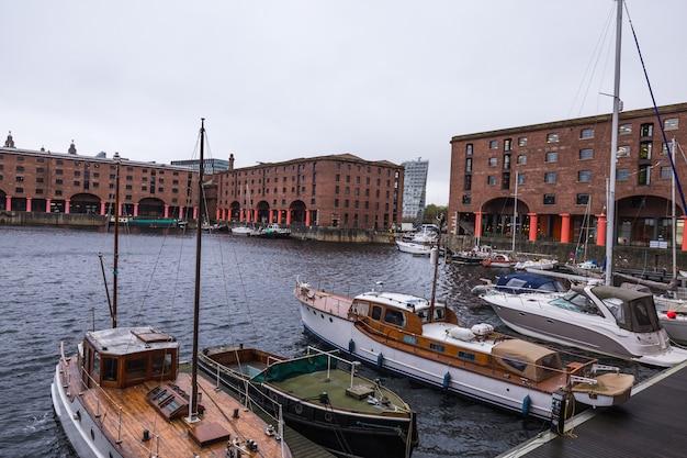 Liverpool rainy day