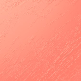 Living coral color brush stroke texture background pantone color