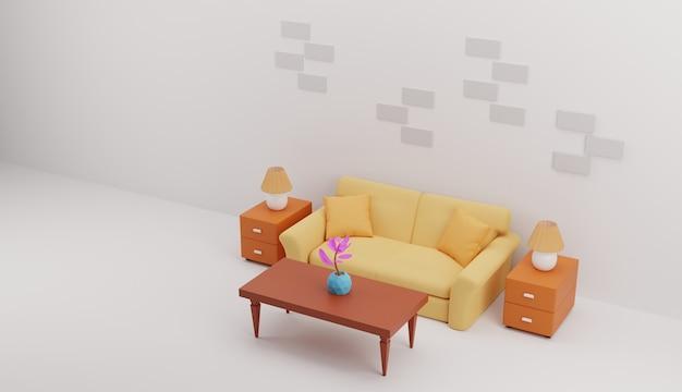 거실 그림 3d 디자인