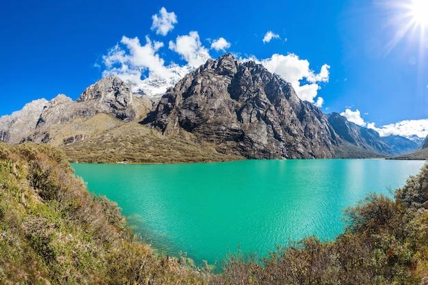 The llanganuco lakes