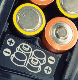 Загрузка батарей