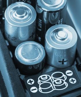 電池の装填